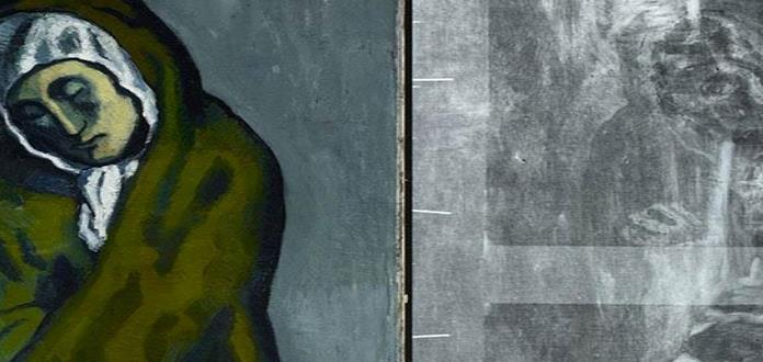 Descubren con rayos X una pintura oculta en un cuadro de Picasso