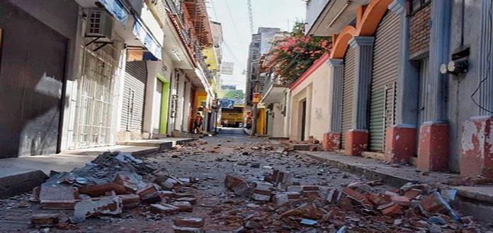 Suman más de 4 mil réplicas del sismo en Pinotepa Nacional