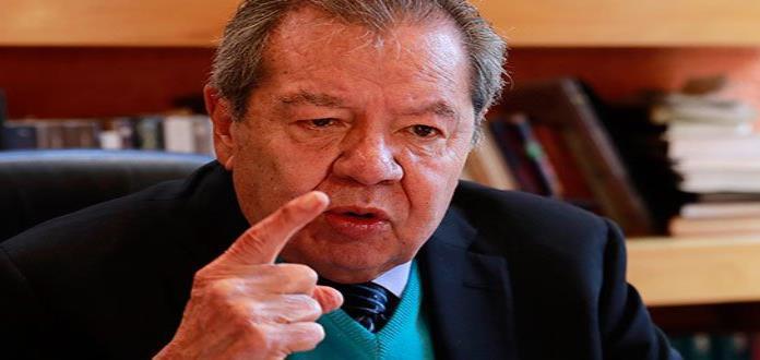 No soy candidato de nadie, dice Muñoz Ledo