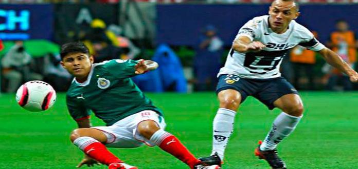 Pumas y Chivas van por triunfo para resurgir en Torneo Clausura 2018