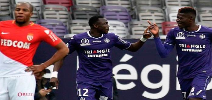 Mónaco se relaja y Toulouse le empata 3-3 en Liga de Francia