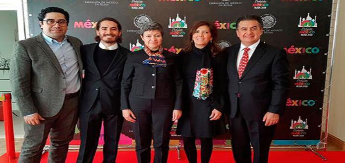 Una probadita de México se presenta en Moscú con vistas al Mundial 2018
