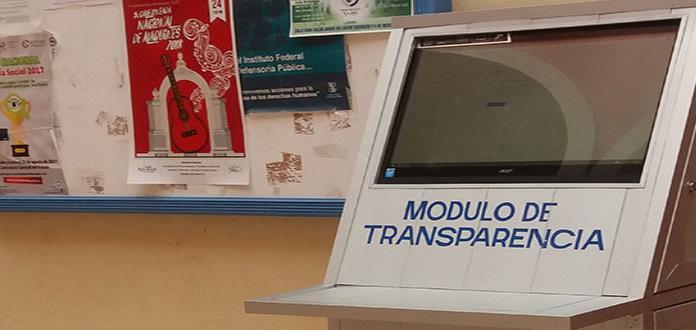 Reubican El Módulo De Transparencia Por Mal Uso