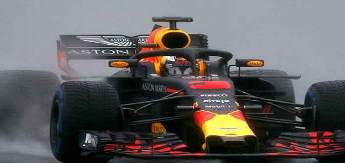 Ricciardo bate récord en pruebas de F1 en España