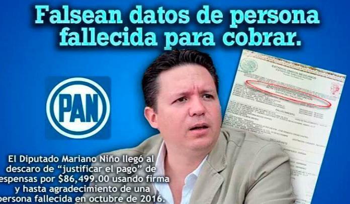 Piden en Change.org firmas para exigir licencia inmediata de Mariano Niño