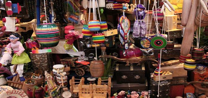 Agarró su segundo aire la venta de artesanías