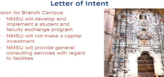 Busca Universidad de Nuevo México campus en San Luis