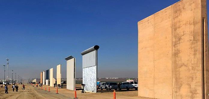 Teletón coloca corazones en muro fronterizo entre México y EUA