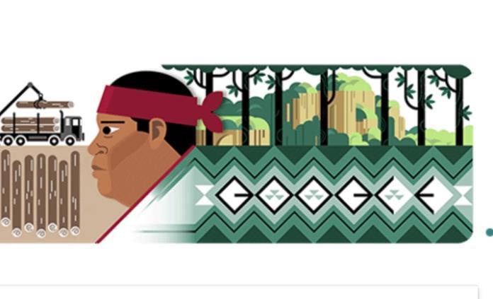 Recuerda Google al activista ambiental Isidro Baldenegro