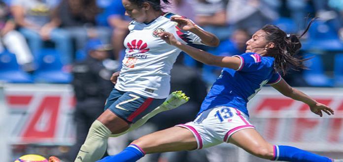 América golea 4-0 a domicilio al Cruz Azul en Liga MX Femenil
