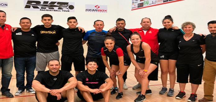 Viajan racquetistas a Panamericano