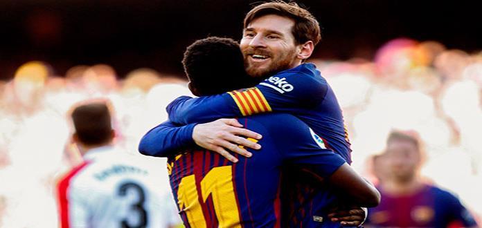 Barcelona persiste invicto en La Liga, derrota 2-0 a Bilbao