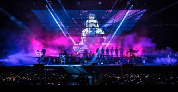 Gorillaz se materializó en espectacular presentación en Vive Latino