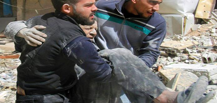 El ejército sirio gana terreno por separado en afueras de Damasco