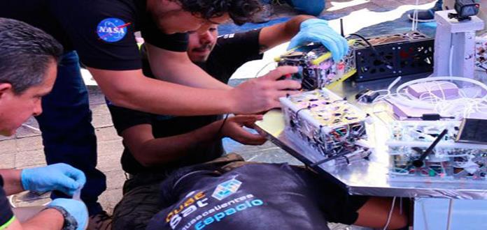 Estudiantes mexicanos rompen techo mental enviando nanosatélites al espacio
