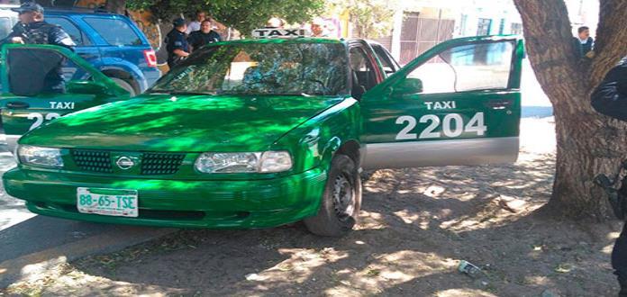 Caen maleantes que usaban taxi para delinquir