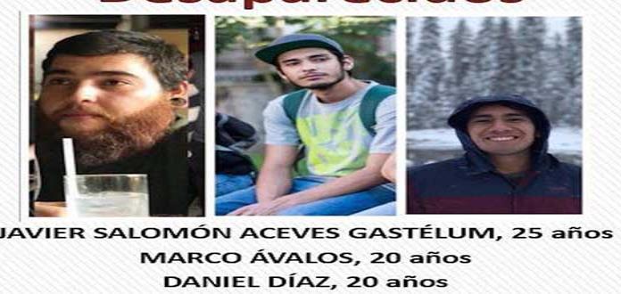 Buscan a tres jóvenes secuestrados en Tonalá
