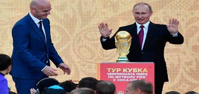 Rusia critica al Reino Unido por comparar Copa del Mundo de fútbol con Hitler