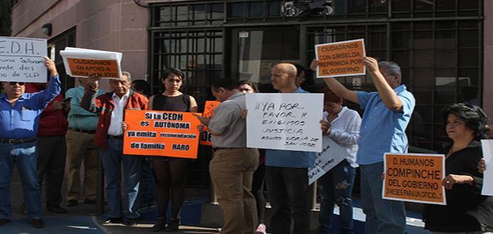 Ciudadanos exigen a la CEDH recomendación por abusos policiacos