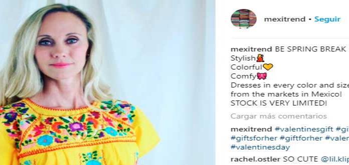 Tienda que vende ropa mexicana en internet desata debate en EUA