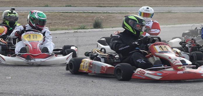 Rubén Torres se impuso en los go-karts