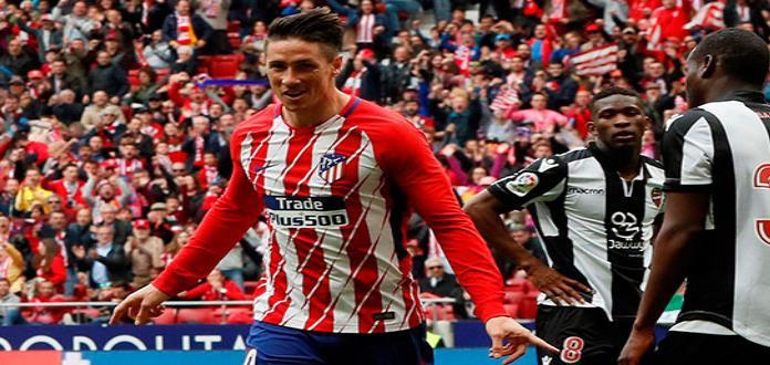 Atlético de Madrid vence a Levante 3-0
