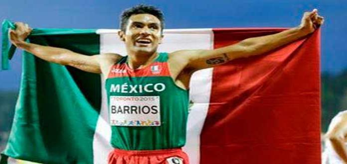 El atleta Juan Luis Barrios estará en SLP