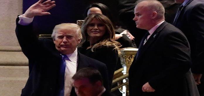 "Trump pregona ante empresarios ""éxito"" en Siria"