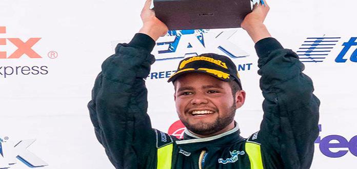 Marco Marín va por podio en el Óvalo Potosino