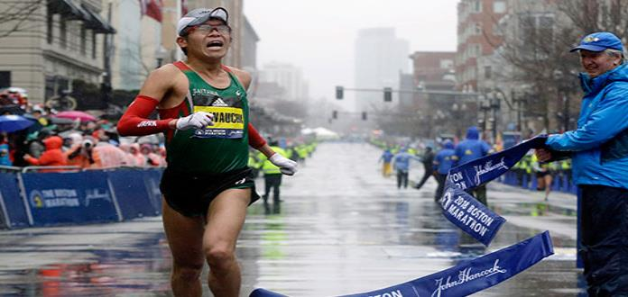 Yuki Kawauchi gana Maratón de Boston 2018