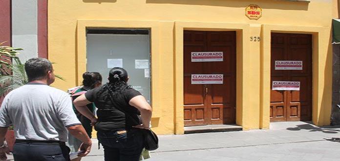 """El SAT clausura la pastelería """"La Condesa"""""""
