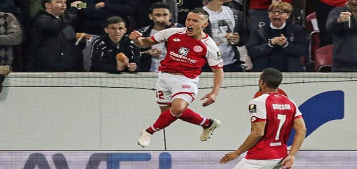 Argentino De Blasis da triunfo a Mainz con un increíble gol increíBundesliga