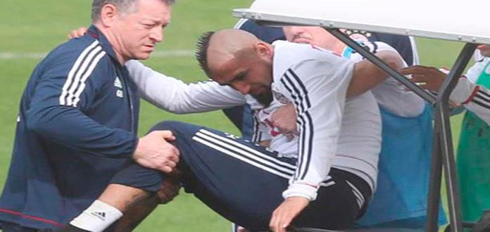 Vidal se operará la rodilla, y está en duda para Real Madrid