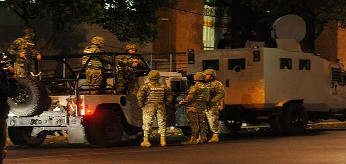 Marinos disparan, por error, contra policías en Jalisco