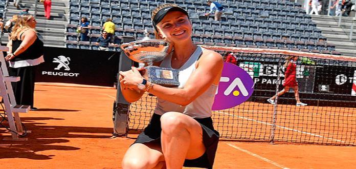 Elina Svitolina refrenda su título en Roma