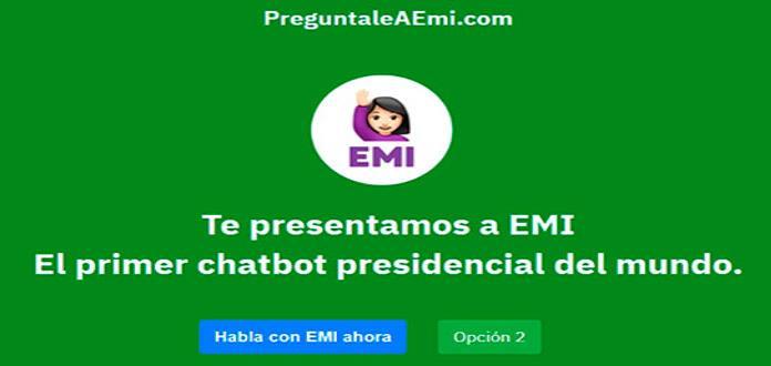 ¿Quieres saber algo de las próximas elecciones? Pregúntale a EMI