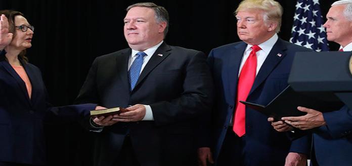 Trump elogia a la directora de la CIA