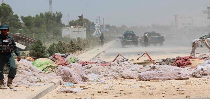 Error provoca fatal explosión en Afganistán
