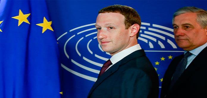 Unión Europea cuestiona a Zuckerberg