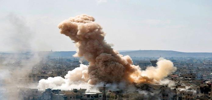 Mueren 12 combatientes pro Al Asad en ataques de coalición de EEUU en Siria