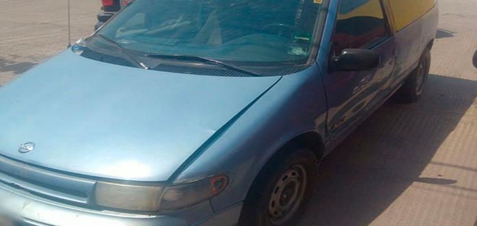 Camioneta hurtada es localizada en la colonia Nuevo Progreso