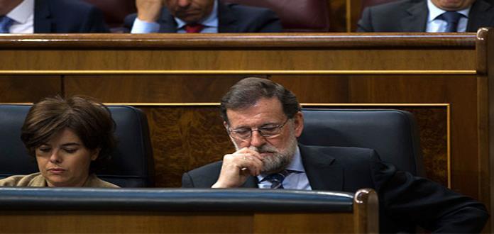 El presidente español está contra las cuerdas