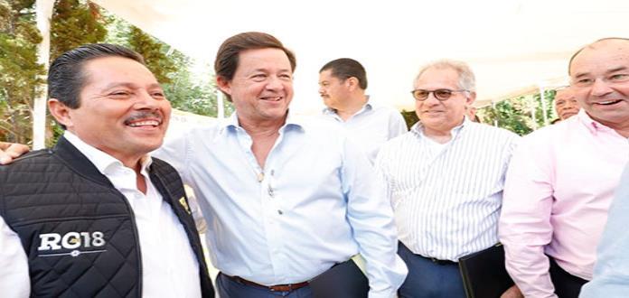 Gallardo se reúne con empresarios; hablan de seguridad y desarrollo