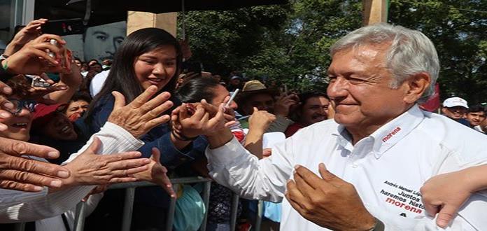 Ofrece López Obrador impulso a la industria petrolera en Cosoleacaque