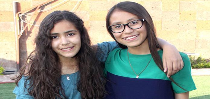María Paula Acosta y Michelle Sánchez festejaron otro año de vida