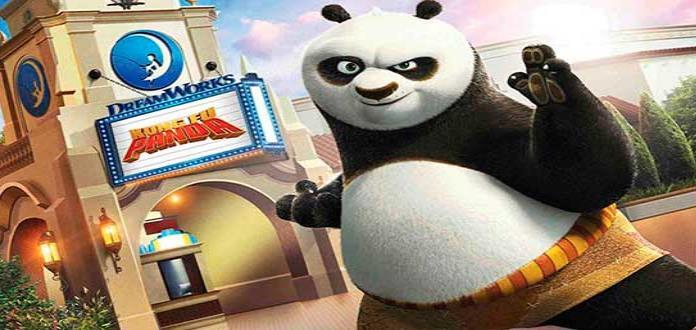 Kung Fu Panda llega a Universal Studios Hollywood