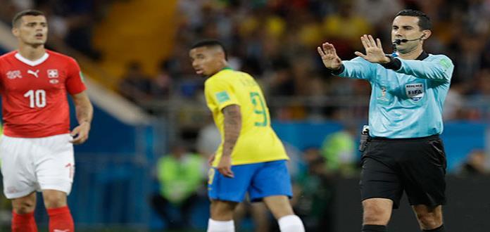 Brasil arremete contra árbitro mexicano, César Ramos