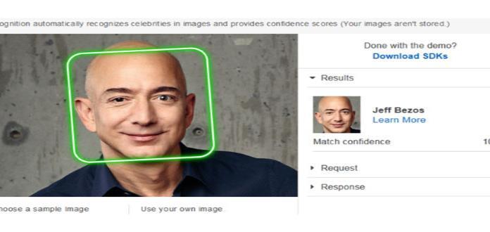 Accionistas piden a Amazon poner fin a polémico sistema de reconocimiento facial