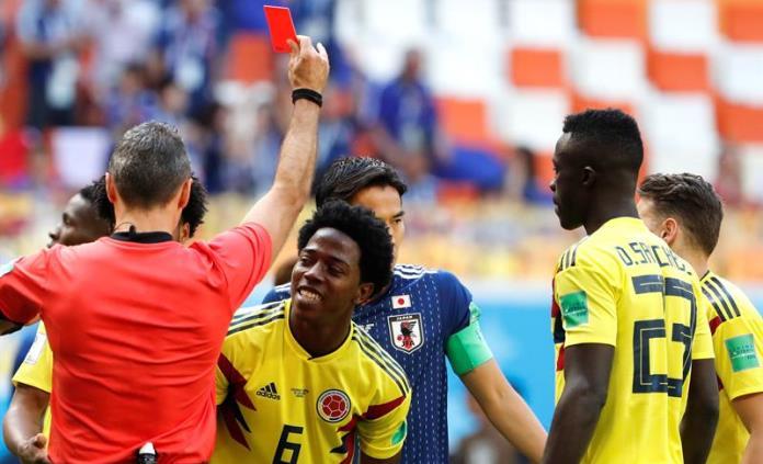 """José Pékerman califica de """"jugada fatal"""" el penalti y la expulsión"""