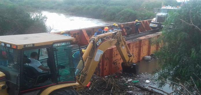 Grandes cantidades de basura causaron crecida del Río Santiago: Interapas